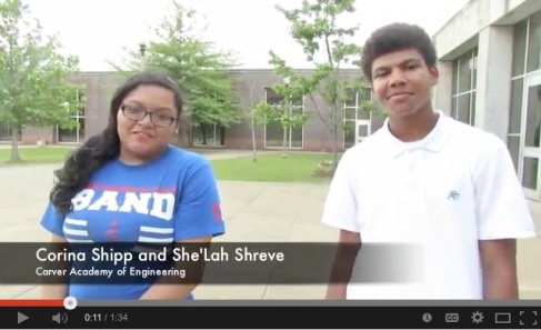 As part of Bridging the Gap, tenth-grade Academy students participated in extended-classroom experiences at locations all over town - including this one at the Lyric and Alabama Theaters.  Click the image above to watch the full video on our YouTube channel.